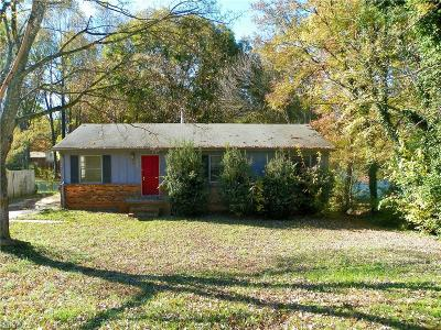 High Point Single Family Home For Sale: 205 Hampton Drive