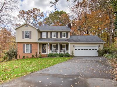 Kernersville Single Family Home For Sale: 1450 Old Coach Road