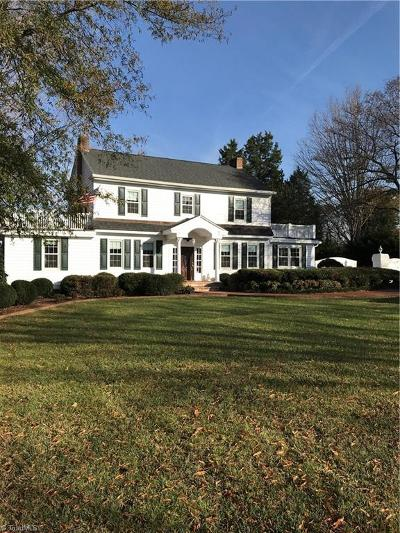 Pfafftown Single Family Home For Sale: 6265 Yadkinville Road