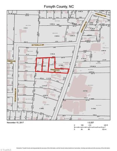 Residential Lots & Land Closed: 1115 Frankfort Way