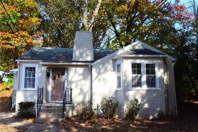 Winston Salem Single Family Home For Sale: 515 20th Street W