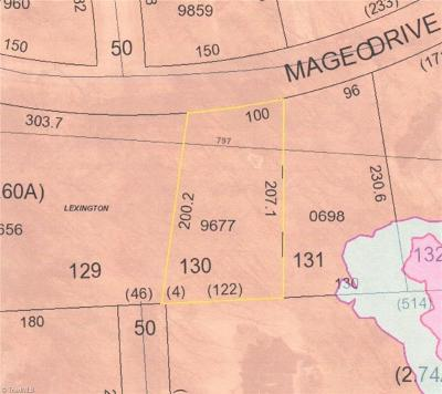 Davidson County Residential Lots & Land For Sale: Maegeo Drive
