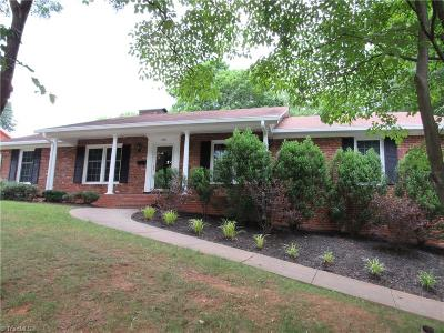 Winston Salem Single Family Home For Sale: 2901 Hope Valley Road