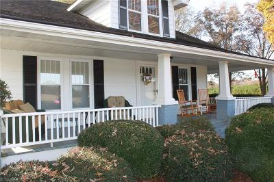 Single Family Home For Sale: 3199-50acre W Memorial Highway