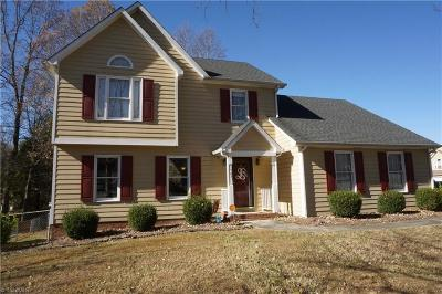 Winston Salem Single Family Home For Sale: 1787 Greencedar Lane