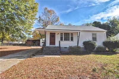High Point Single Family Home For Sale: 1416 Cook Street