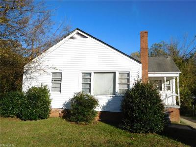 Greensboro Single Family Home For Sale: 1503 McCormick Street