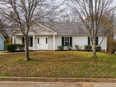 Greensboro Single Family Home For Sale: 4507 Pine Cove Road