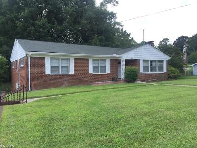 Greensboro Single Family Home For Sale: 1604 Benbow Road