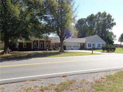 Mocksville Single Family Home For Sale: 1279 County Home Road