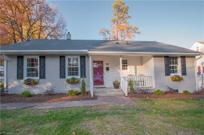 Greensboro Single Family Home For Sale: 1348 Seminole Drive