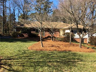 Winston Salem Single Family Home For Sale: 1817 Sussex Lane