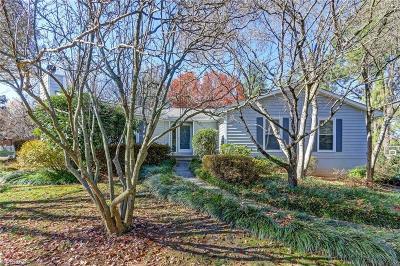Greensboro Single Family Home For Sale: 3711 Sagamore Drive