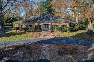 High Point Single Family Home For Sale: 423 Burning Tree Circle