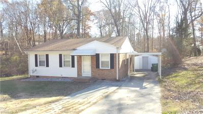 High Point Single Family Home For Sale: 1124 Springfield Road