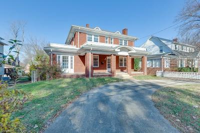 Winston Salem Single Family Home For Sale: 806 S Hawthorne Road