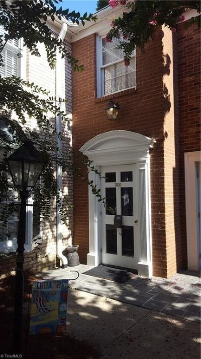 Winston Salem Condo/Townhouse For Sale: 306 Hanover Arms Court