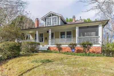 Winston Salem Single Family Home For Sale: 417 W Academy Street