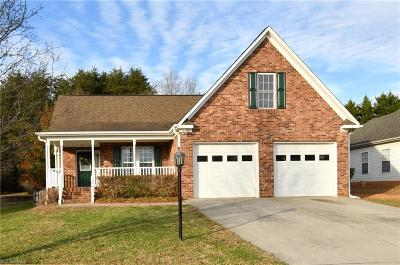Winston Salem Single Family Home For Sale: 1841 Cahill Drive