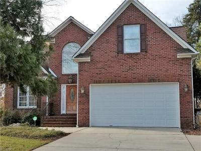 High Point Single Family Home For Sale: 3007 Rivercross Drive