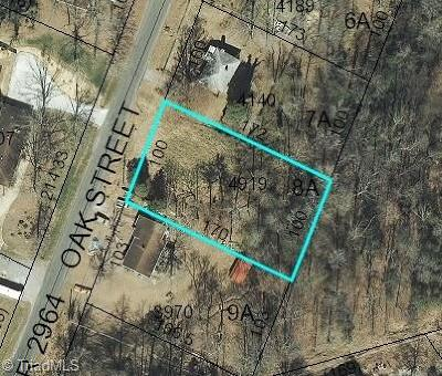 High Point Residential Lots & Land For Sale: 1347 Oak Street