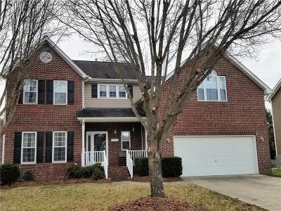 High Point Single Family Home For Sale: 3608 Dairy Point Drive
