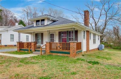 Winston Salem Single Family Home For Sale: 3334 Old Greensboro Road