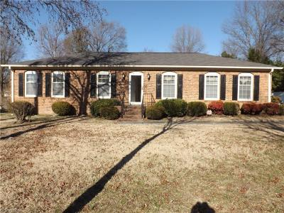 Alamance County Single Family Home For Sale: 2135 Front Street