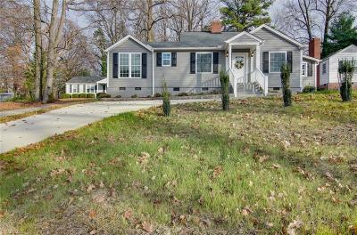 Greensboro Single Family Home For Sale: 519 Park Terrace