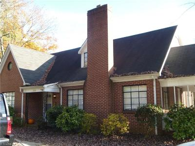 Winston Salem Single Family Home For Sale: 1414 Polo Road