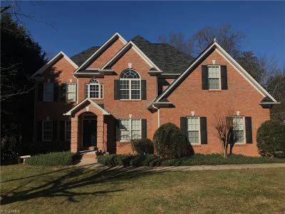 Winston Salem Single Family Home For Sale: 165 Stonebrook Court