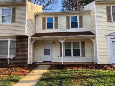 Greensboro Condo/Townhouse For Sale: 4335 Baylor Street