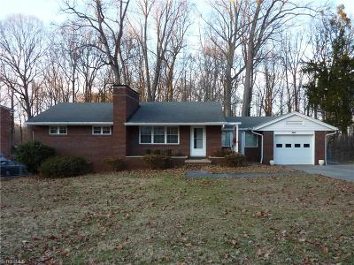 High Point Single Family Home For Sale: 317 Model Farm Road