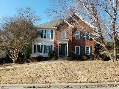 Winston Salem Single Family Home For Sale: 100 Stonebrook Court