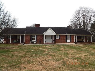 Winston Salem Single Family Home For Sale: 5580 Belle Avenue