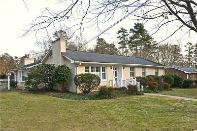 Winston Salem Single Family Home For Sale: 401 Anita Drive