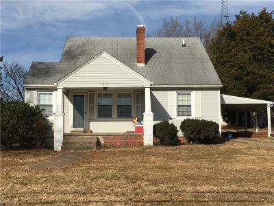 Rockingham County Single Family Home For Sale: 1815 Nc Highway 135