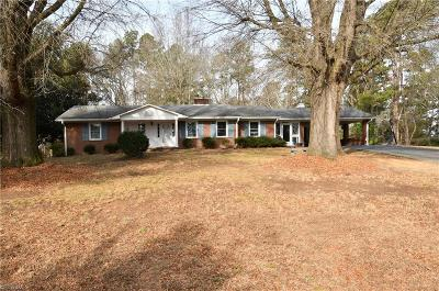 Winston Salem Single Family Home For Sale: 425 Fishel Road