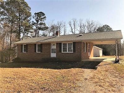 Caswell County Single Family Home For Sale: 10407 Nc Highway 150
