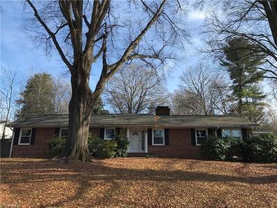 Winston Salem Single Family Home For Sale: 862 Kenwick Drive