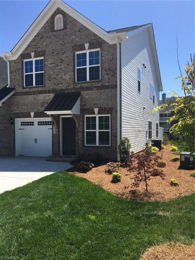 High Point Condo/Townhouse For Sale: 3533 Timbergate Lane #Lot 165