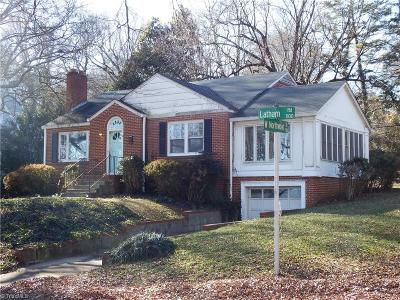 Latham Park Single Family Home For Sale: 1115 Latham Road