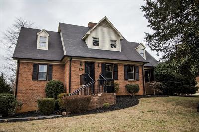 Winston Salem Single Family Home For Sale: 1701 Huntington Woods Court