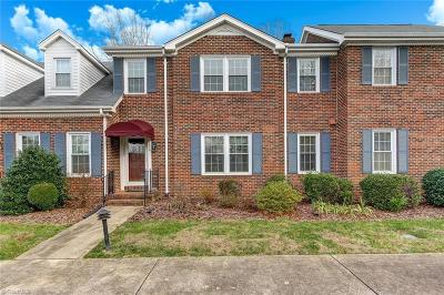 Reidsville Condo/Townhouse For Sale: 1328 Cotswald Terrace