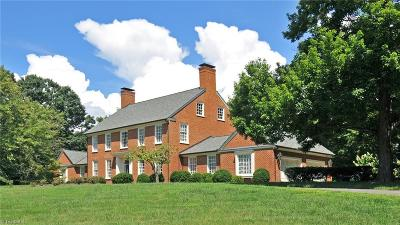 Mount Airy NC Single Family Home For Sale: $1,189,000