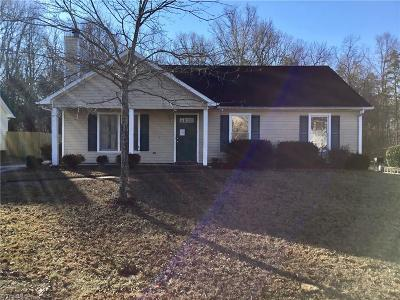 Guilford County Single Family Home Short Sale Contingent: 5903 Running Ridge Road