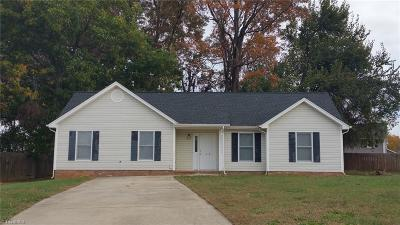 High Point NC Single Family Home For Sale: $122,500