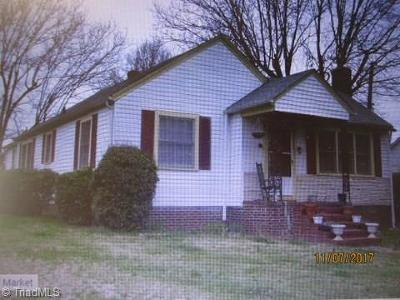 Stoneville Single Family Home For Sale: 102 Bryan Street
