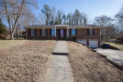 Winston Salem Single Family Home For Sale: 4170 Greenmead Road