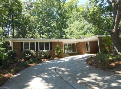 Greensboro Single Family Home For Sale: 2709 Tillbrook Place
